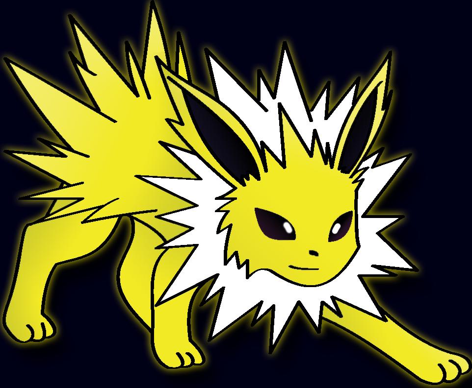 jolteon___the_lightning_pokemon__by_realscyler d7sy2jk