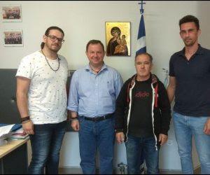 Θεσπρωτία: Συνάντηση αντιπροσωπείας του Συλλόγου Γονέων με 3 παιδιά Ν.Θεσπρωτίας με τον Β.Γιόγιακα-Τι ζήτησαν από τον Βουλευτή