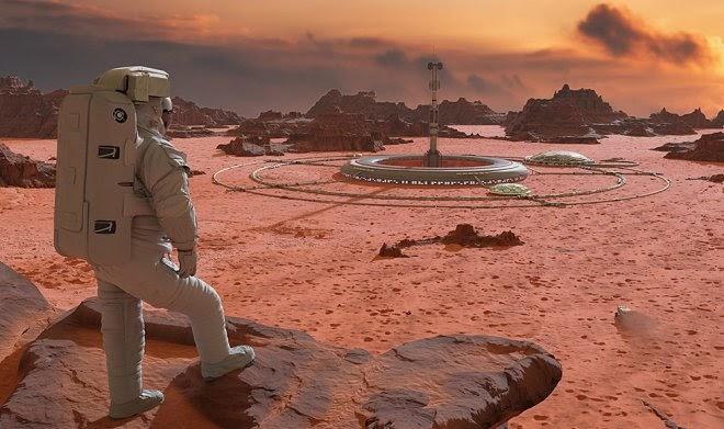 Роскосмос намерен построить на Марсе первую атомную электростанцию