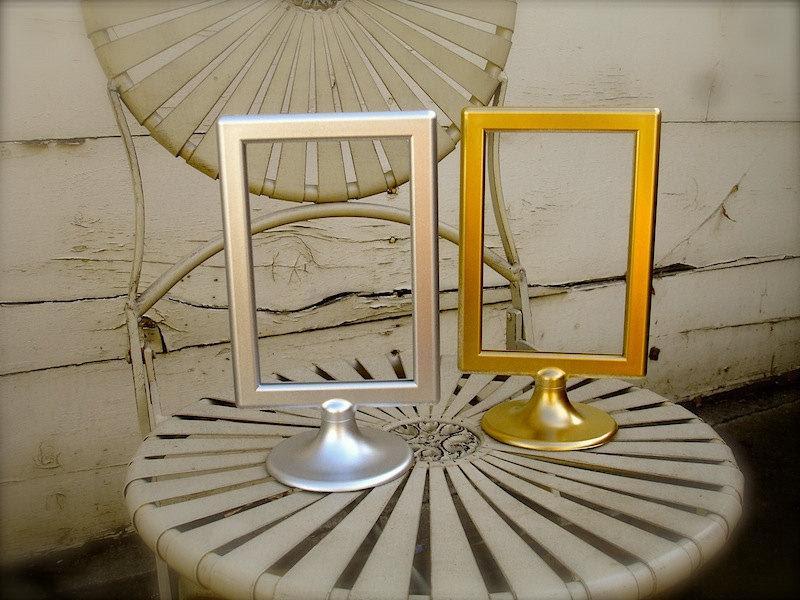 10 Double Sided Pedestal Picture Frames 4x6 Pedestal Frames