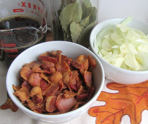 Making Bacon Jam