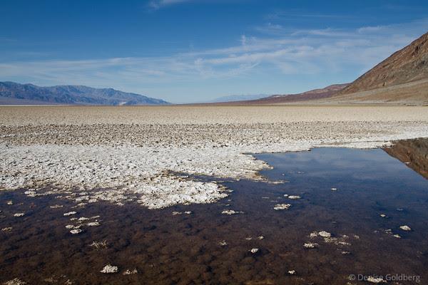 Death Valley in sunshine