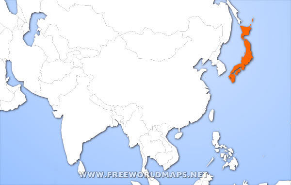 TokyoTouristMap: Where Is Nippon Located In The World Map