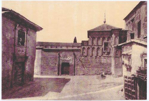 Plaza  de Sta  Isabel con el Palacio del Rey Don Pedro I el Cruel