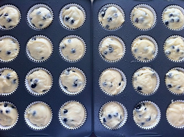 24 Muffins Ready to Bake