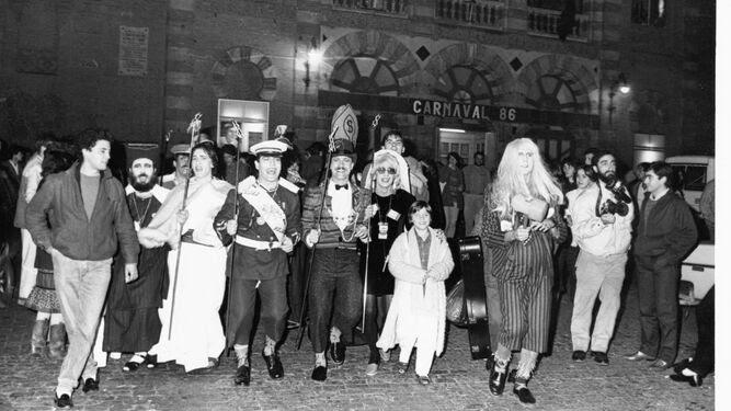 La censura a la chirigota 'Los tontos de capirote' de 1986 será uno de los temas a tratar en el Congreso.