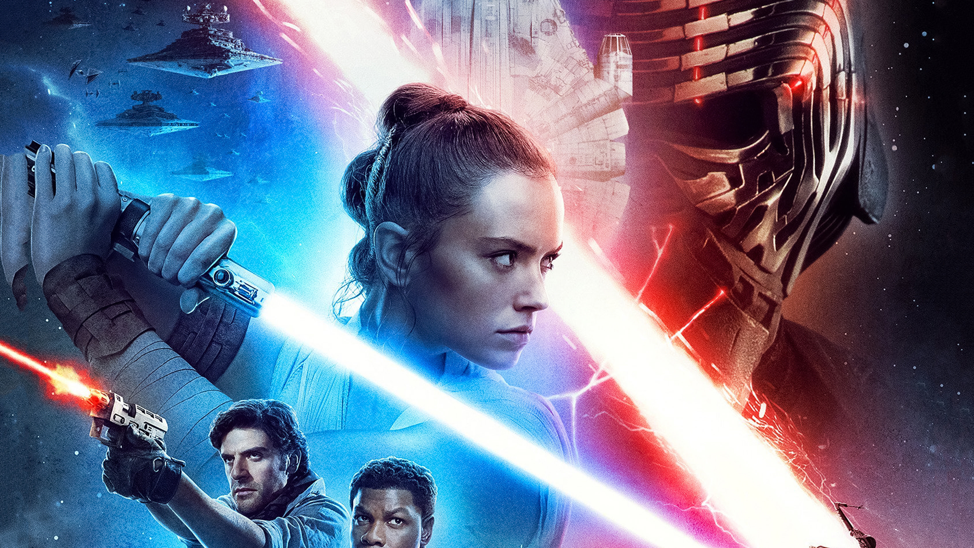 Star Wars The Rise Of Skywalker New Poster Hd Movies 4k