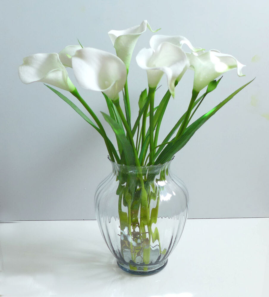 Artificial Flowers 9 calla lily   Orchid Grass Wedding