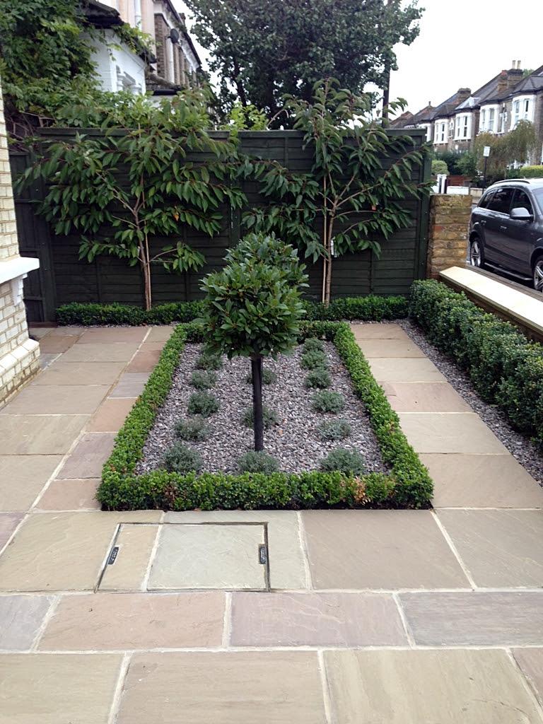 Balham Front Garden London - London Garden Design