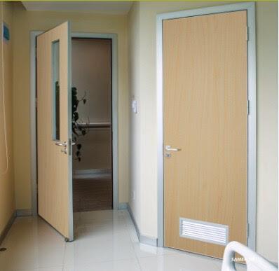bathroom wooden door design  | 665 x 1008