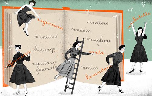 Linguistic Sexism by la casa a pois