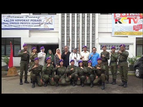 KABARCIANJUR.TV | Pembaretan Menwa Mahawarman STH Pasundan