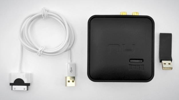 nuforce air dac uwireless system out of the box contents