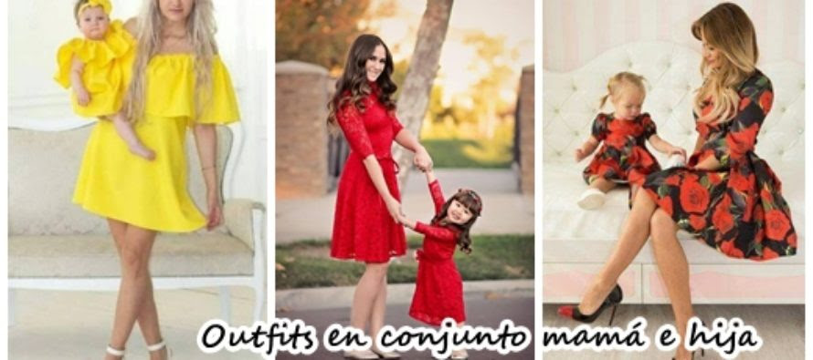 30 Outfits En Conjunto Super Chic Para Mamá E Hija Beauty And