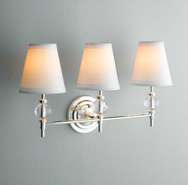 Wilshire Triple Sconce - traditional - bathroom lighting and ...