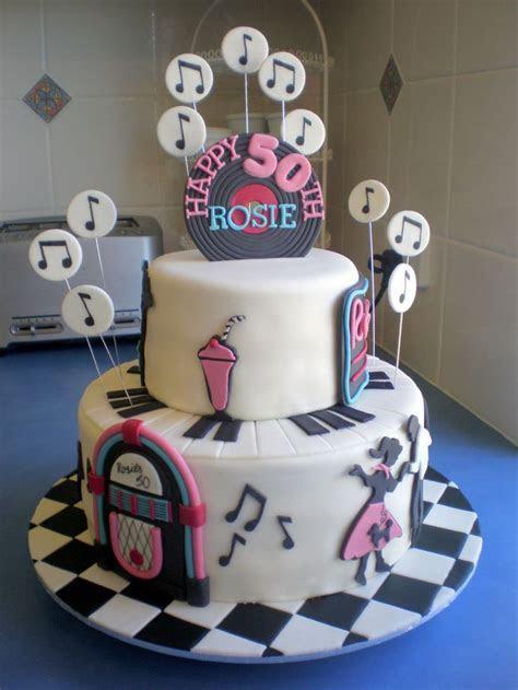 Sugar Siren Cakes Mackay: Fabulous 50's Birthday Cake