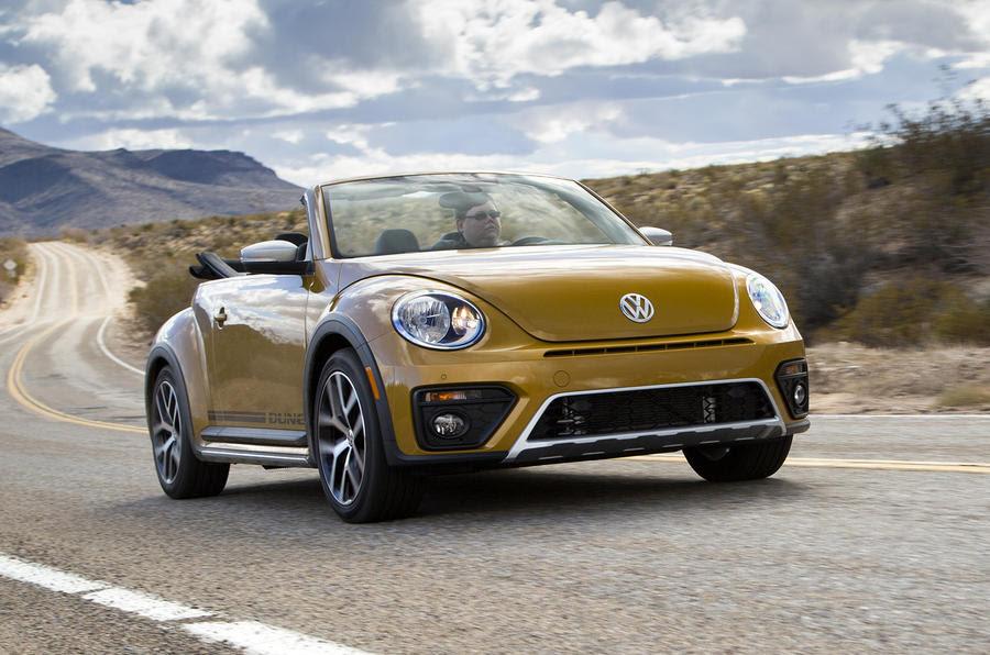 2016 Volkswagen Beetle Dune 1.8 TSI Cabriolet prototype review ...