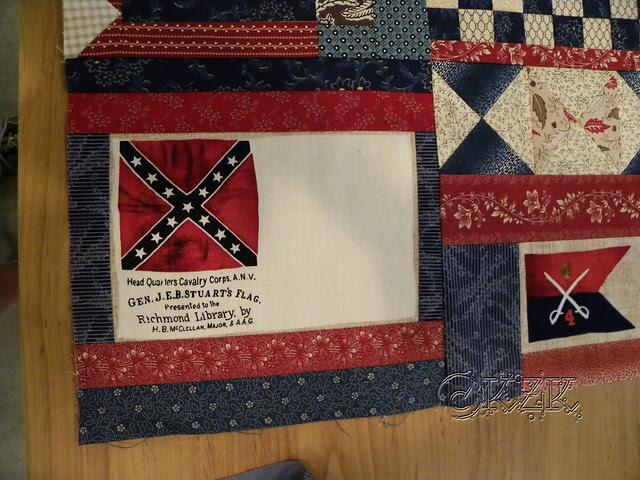 DSCN1887 General JEB Stuart's flag