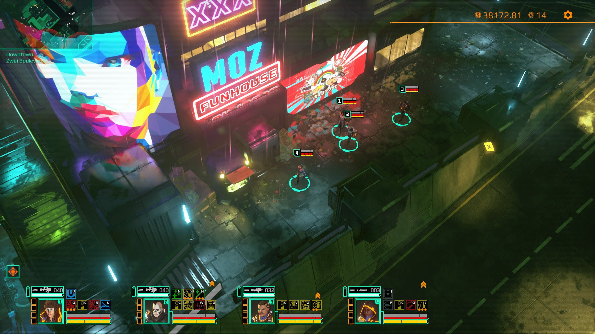Grab real time cyberpunk strategy game Satellite Reign for free right now screenshot