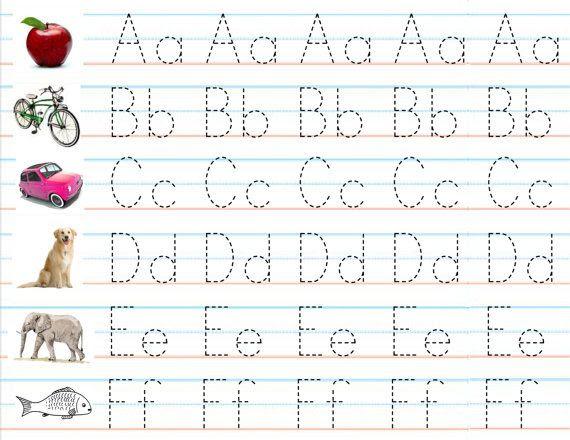 alphabet practice worksheets - laveyla.com