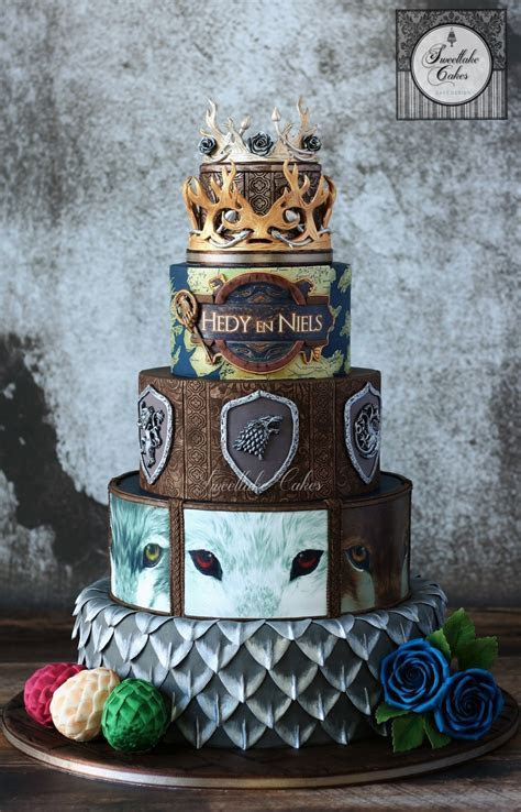 Game of Thrones wedding cake   LET THEM EAT CAKE in 2019