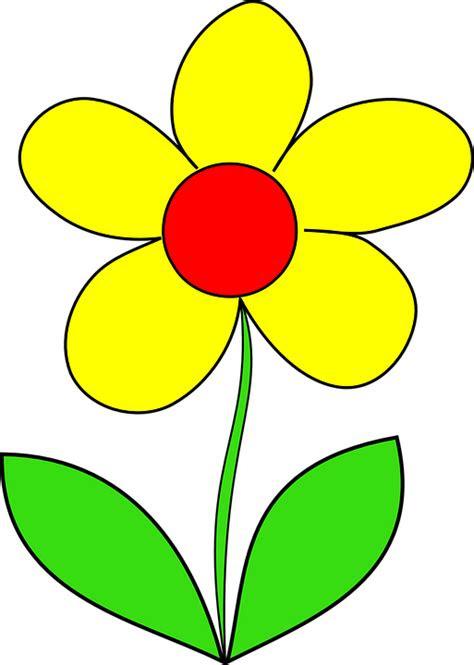 bunga kuning daun musim gambar vektor gratis  pixabay