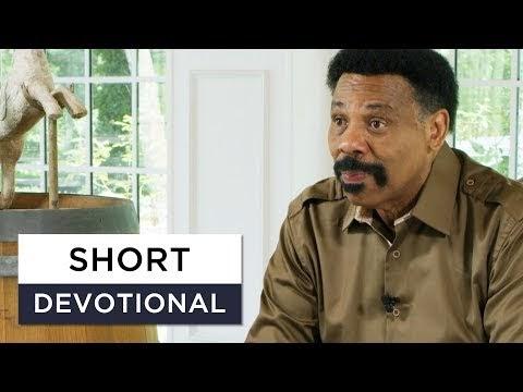 Make Prayer Your First Resort - Tony Evans Devotional