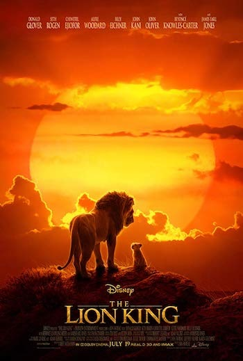 The Lion King 2019 Dual Audio ORG Hindi 480p WEB-DL 350MB