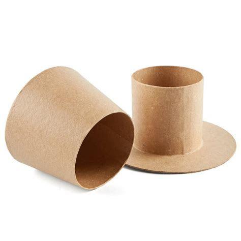 Paper Mache Top Hat Box   New Items