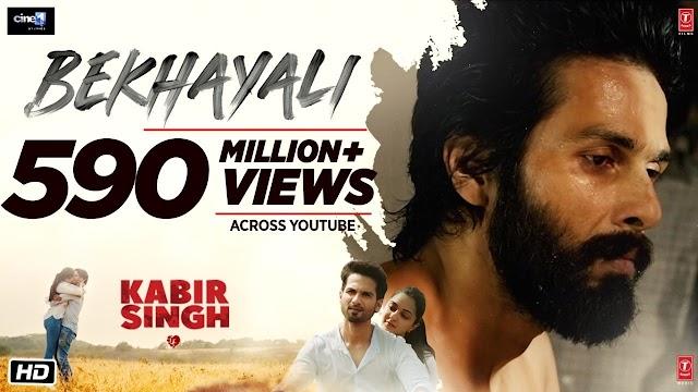 Bekhayali Lyrics - Kabir Singh