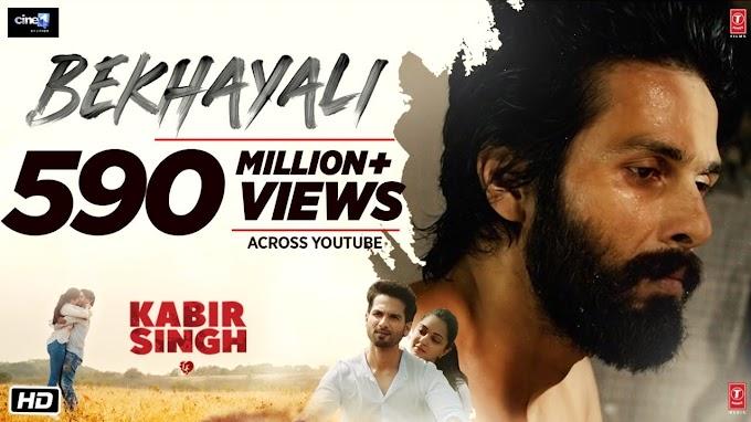 Bekhayali Lyrics – Kabir Singh - Sachet Tandon