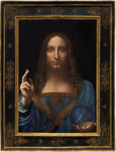 See the Da Vinci Painting of Jesus Sold for a Record N162billion (Photos)