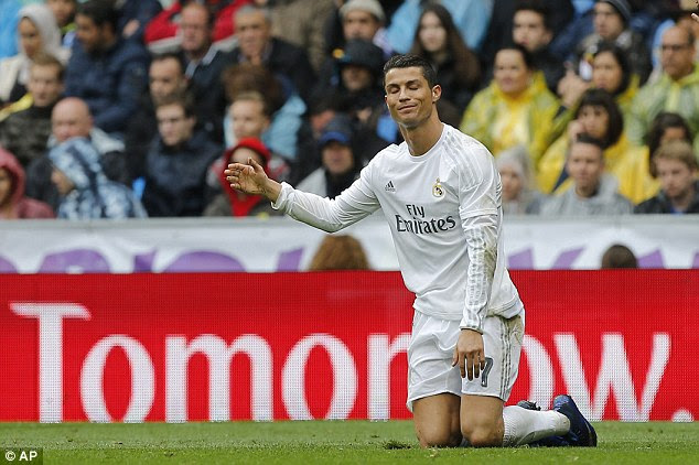 It leaves Real Madrid and Cristiano Ronaldo with it all to do when they visit Deportivo on Saturday
