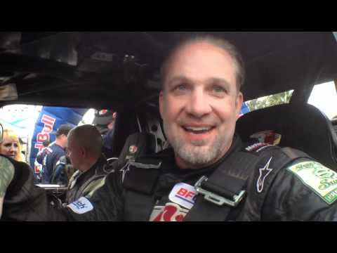 Jesse  James interview 2011 Baja 1000 race morning