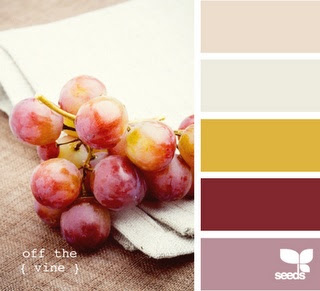 Off the vine color palette by Design Seeds