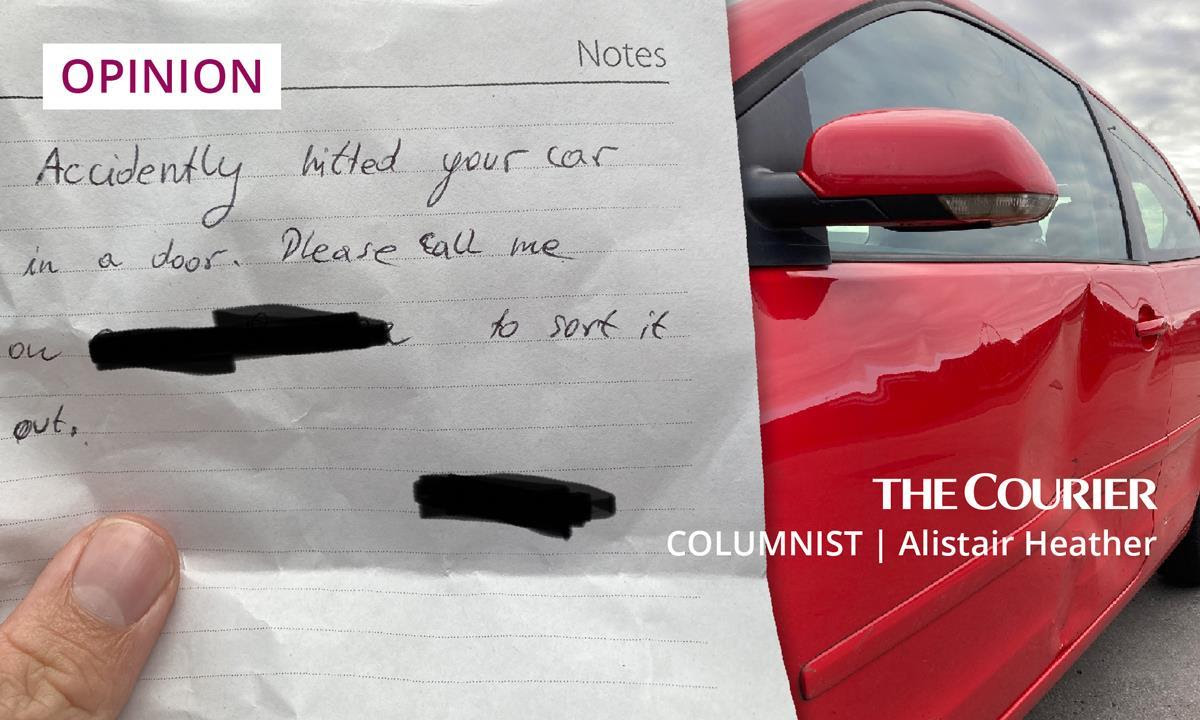 ALISTAIR HEATHER: How a car prang in Montrose taught me a lesson about Brexit