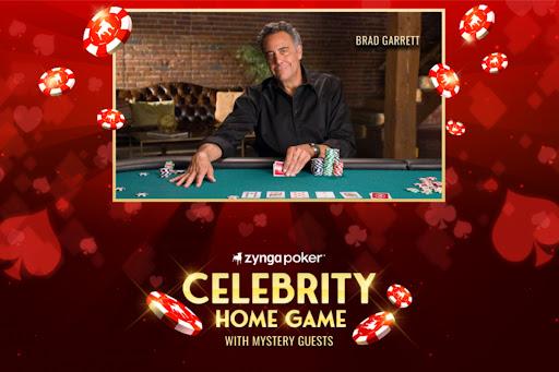 """Avatar of Zynga Poker Partners with Brad Garrett for """"Celebrity Home Game"""""""