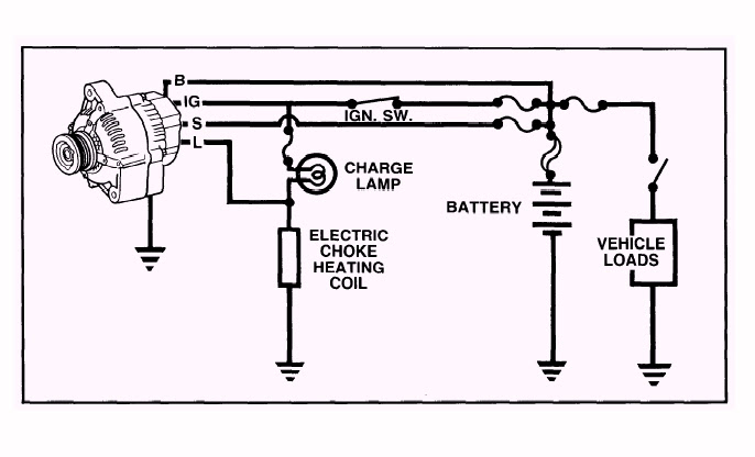 Alternator Plug Wiring Diagram