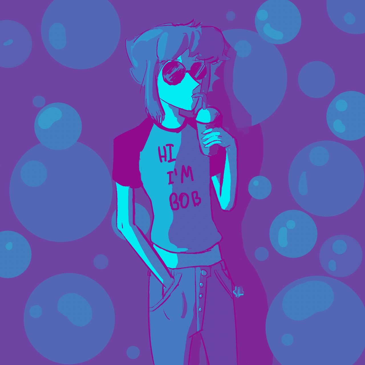 "Lapis lazuli ""Sodas and skateboards"" pallete"