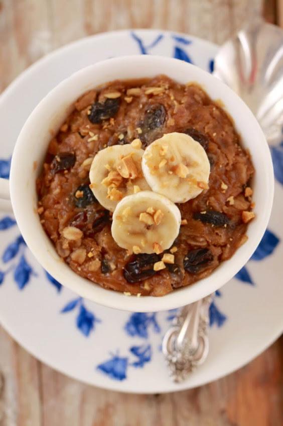 Dorm Food: Microwave Breakfast Cookie