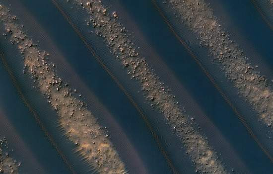 NASA divulga imagens inéditas de dunas em Marte
