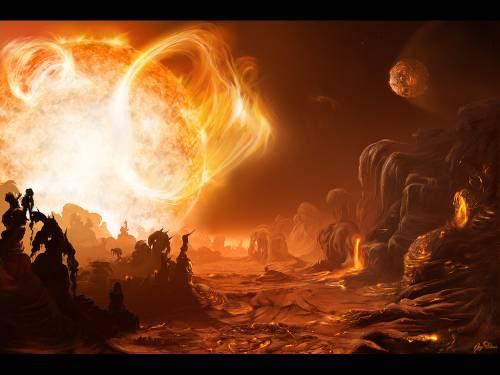 Wallpaper Of Fire. Wallpaper image: Reign of Fire