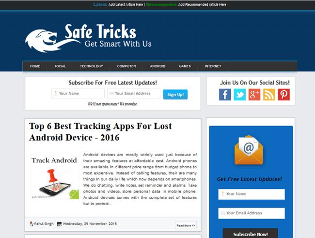 Kumpulan template blog seo responsive terbaik gratis for Xml templates for blogger free download