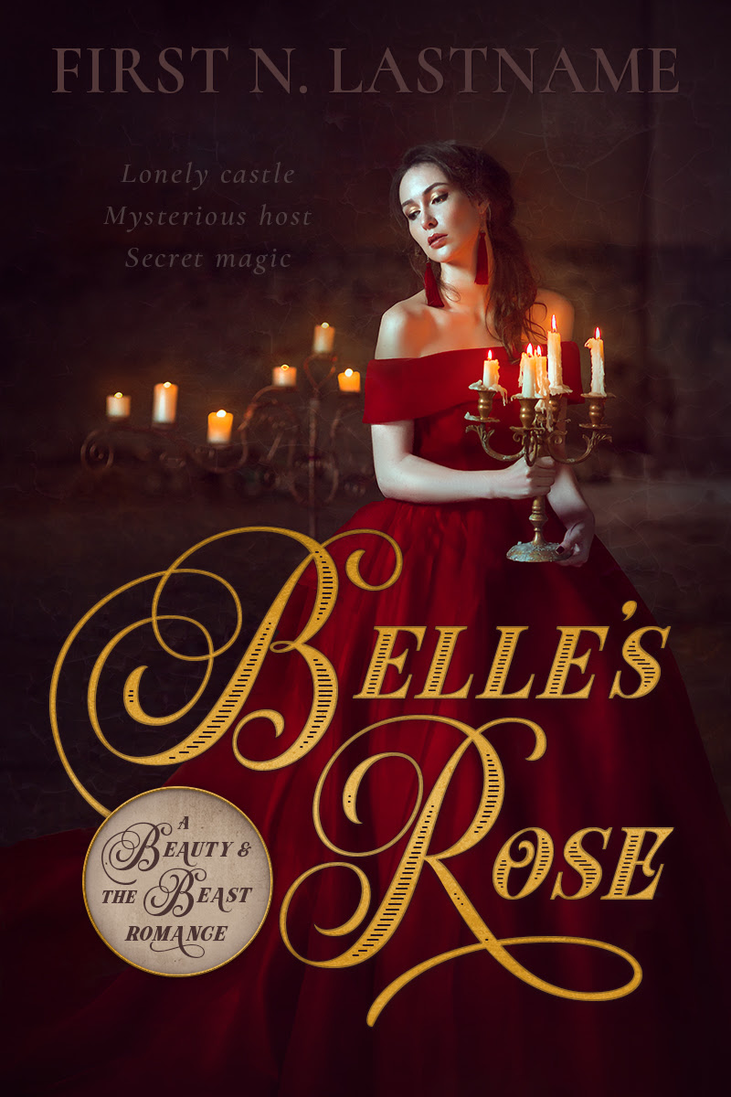 Beauty And The Beast Retelling Romance Premade Belles Rose