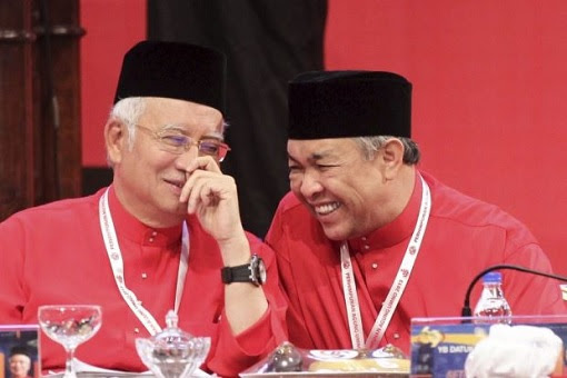 Najib Razak and Zahid Hamidi - Crooks Laughing