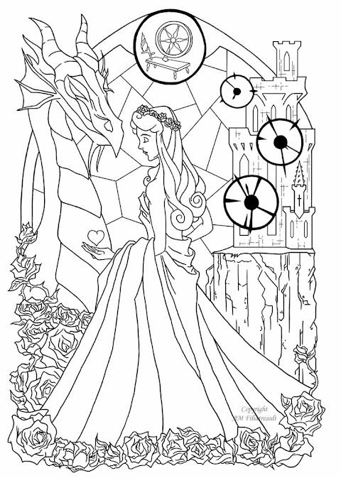Awesome Beautiful Coloring Pages