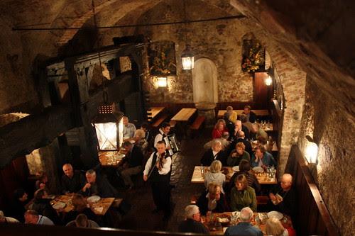 Inside a Heurigen