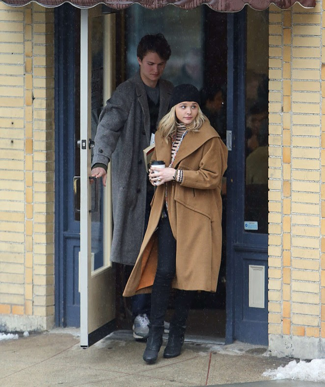 Chloe Moretz: Set of November Criminals -10