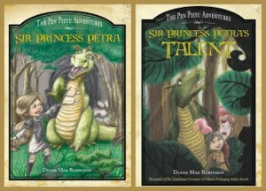 Petra book one and two covers