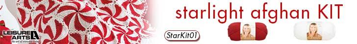 Starlight Afghan Kit